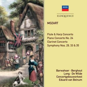 Mozart CD Cover